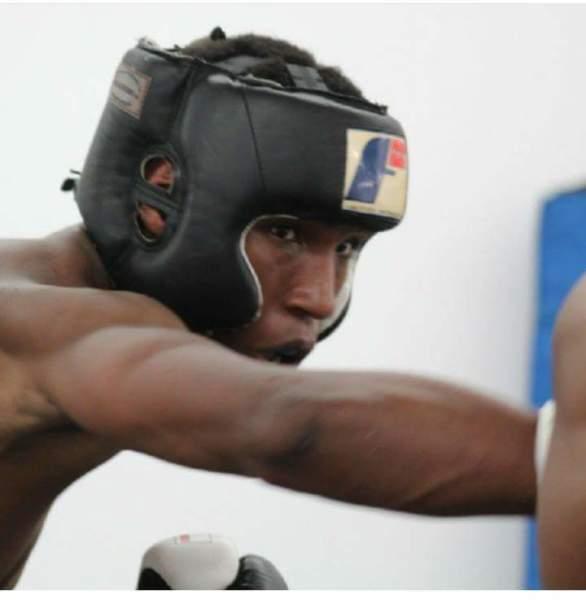 SCFF Amateur Boxer Ray Kelly