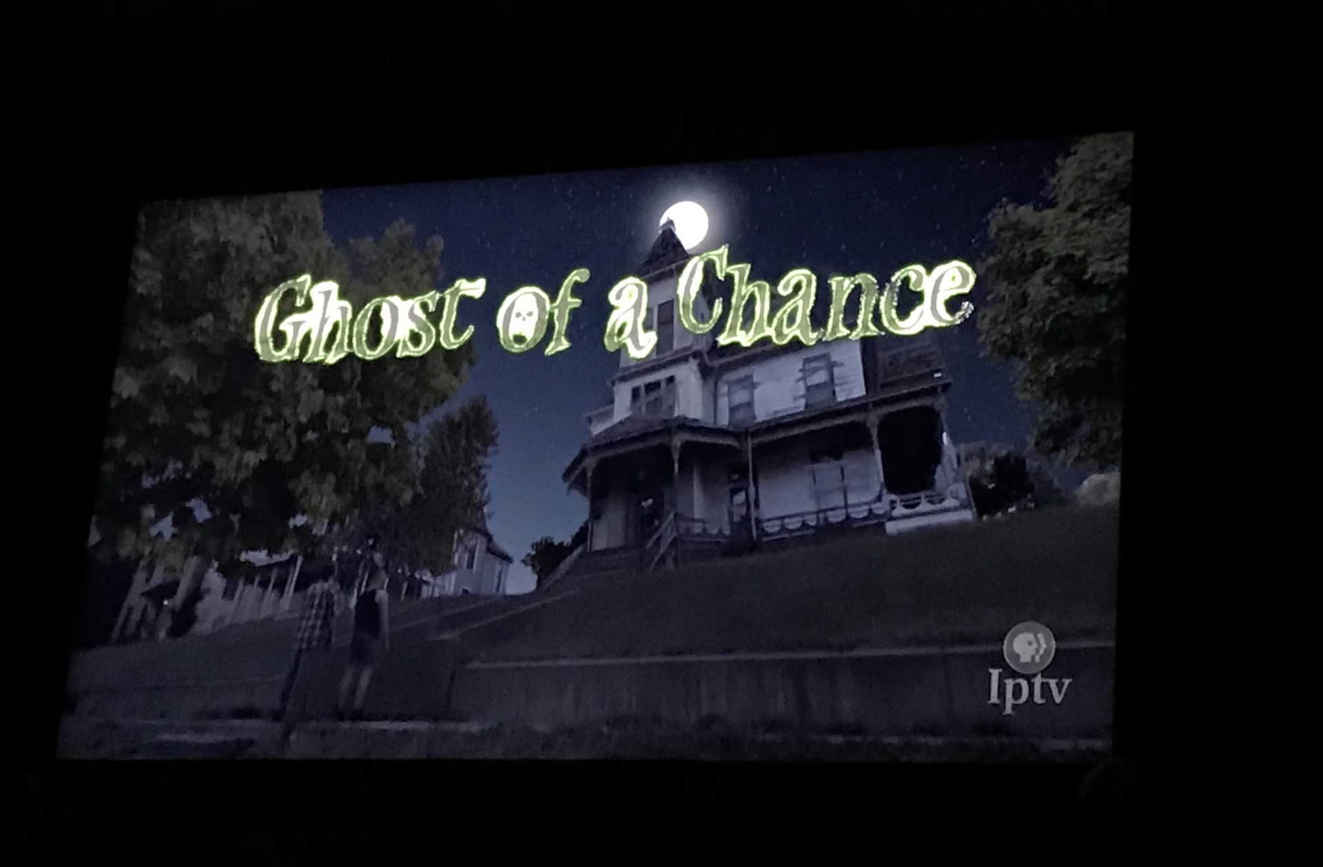 Ghost of a Chance Spooks Iowa!