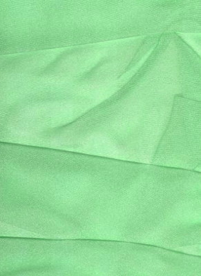 Chartreuse Organza