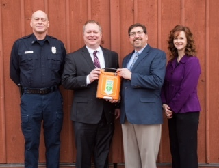 ProHealth Care Donates Life-Saving AED units to Old World Wisconsin