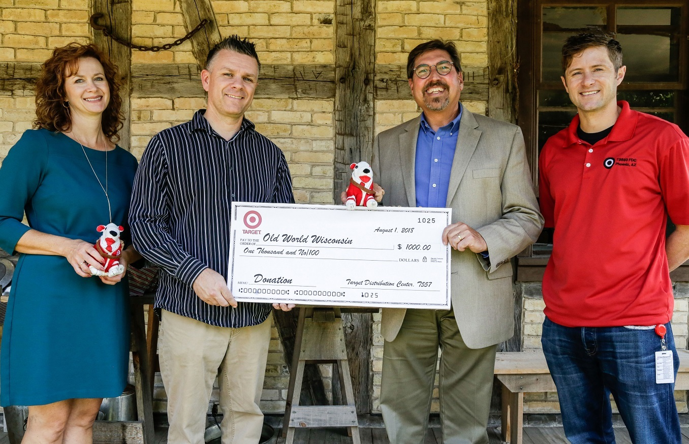 Target Funds Children's Activities for Autumn on the Farms at Old World Wisconsin