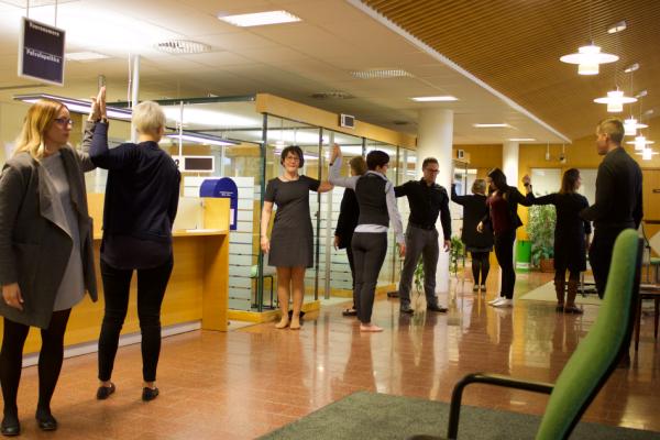 Työhyvinvoinnin puolesta - Kurkistus TYHY-projektiin osallistujan silmin