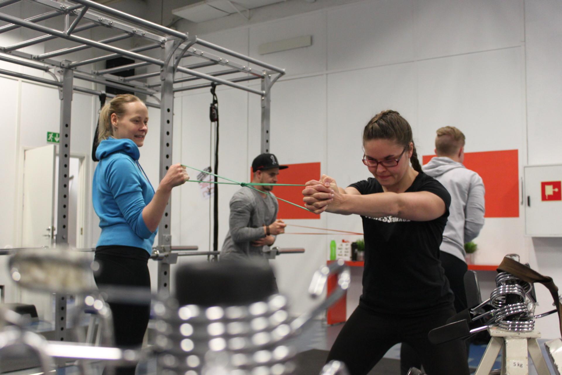 Kouluttaudu Personal Traineriksi Seinäjoella