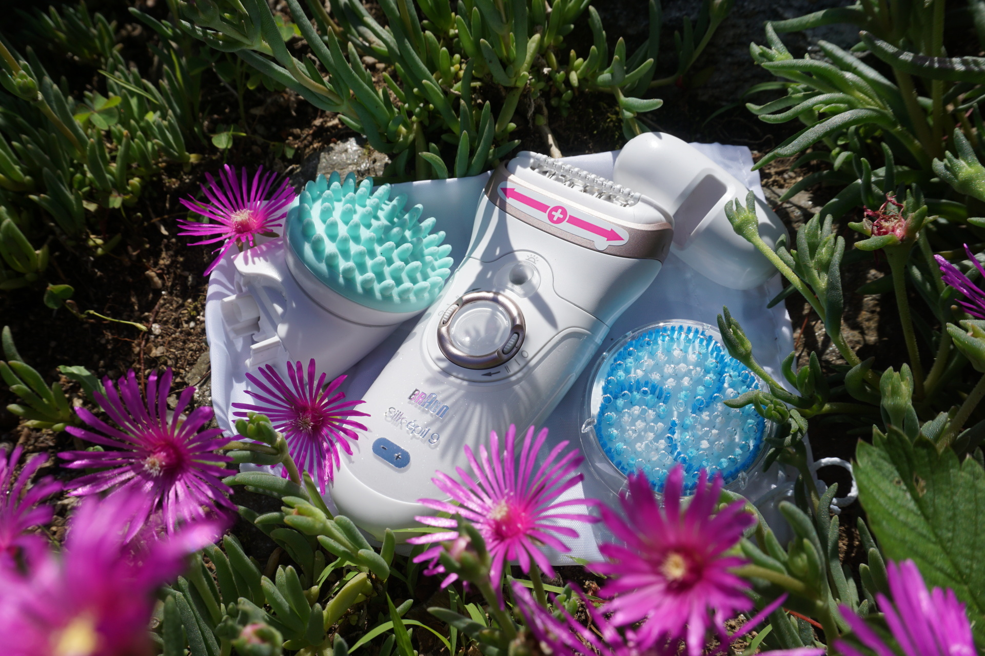 Getting ready for summer with the Silk-epil 9 SkinSpa from Braun