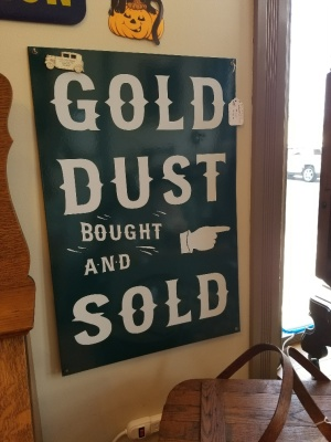 Gold Dust Sign