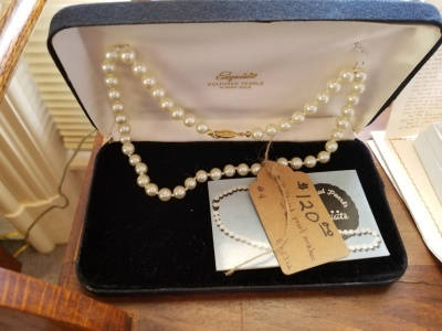 Cultured Pearls 14k