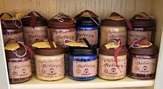 Apothecary Jar Candles