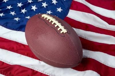 Football & The Flag
