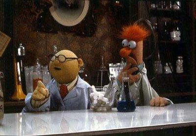 Dr. Bunsen Honeydew and Beaker