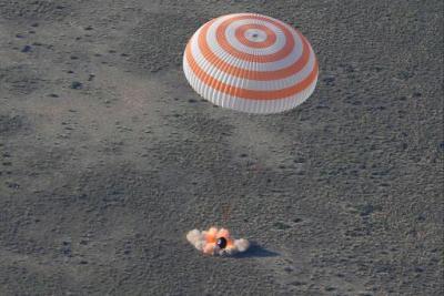 Soyuz landing rockets