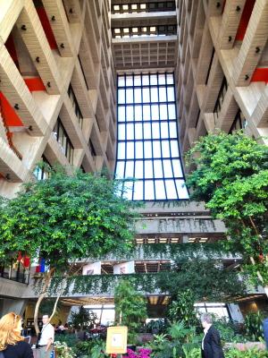 Wilson Hall atrium