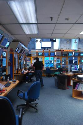 Main control room