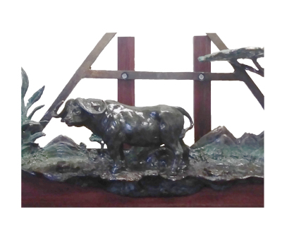 """Reflecitons of Africa"", by Raj S. Paul (wildartsbyrajspaul.com)"