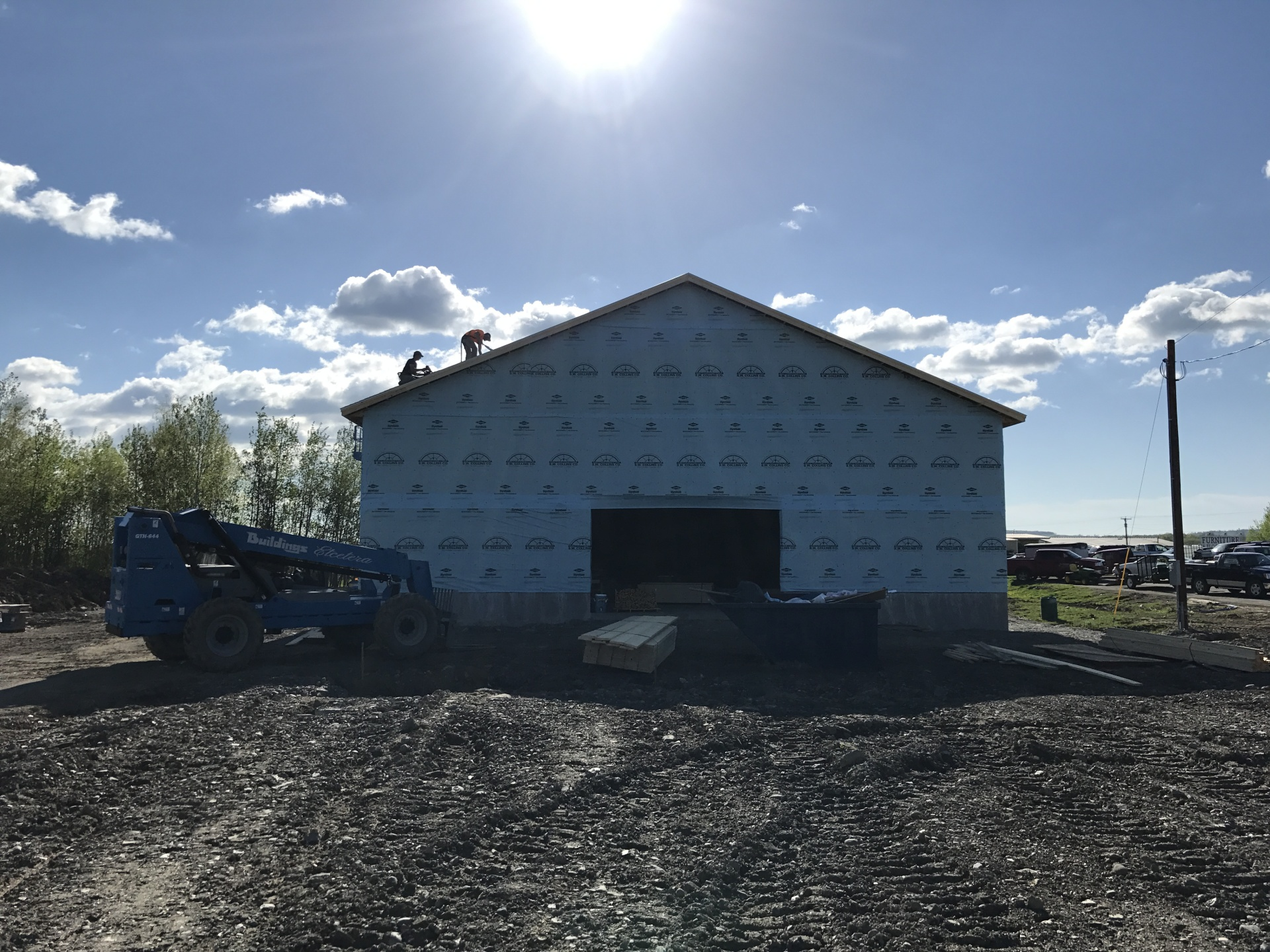 Roofing and House Wrap