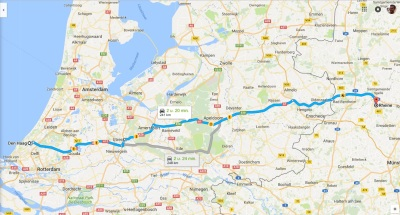 Daytrip to Germany for treatment