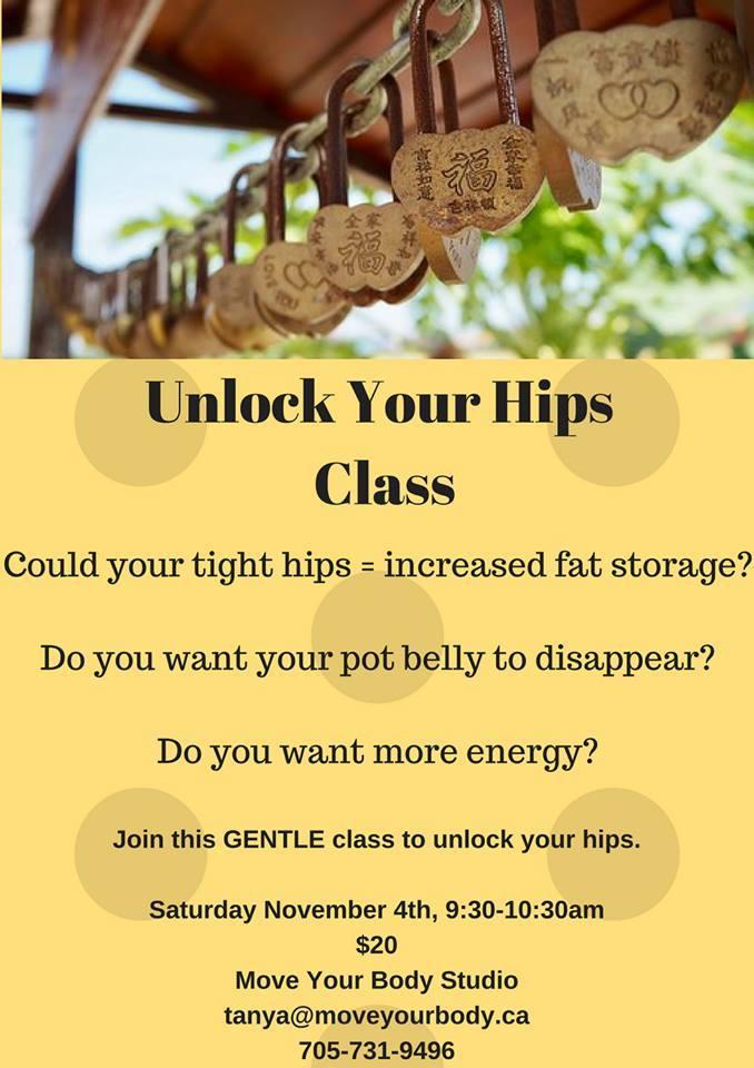 Unlock Your Hips
