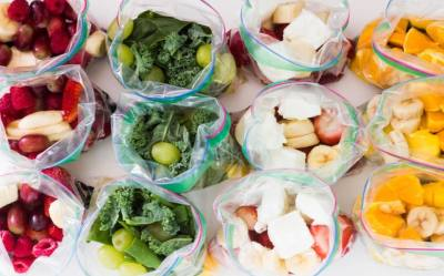 How to make a Grab n' Go Smoothie Pack