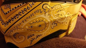Kelly's Yellow Bandanna 3