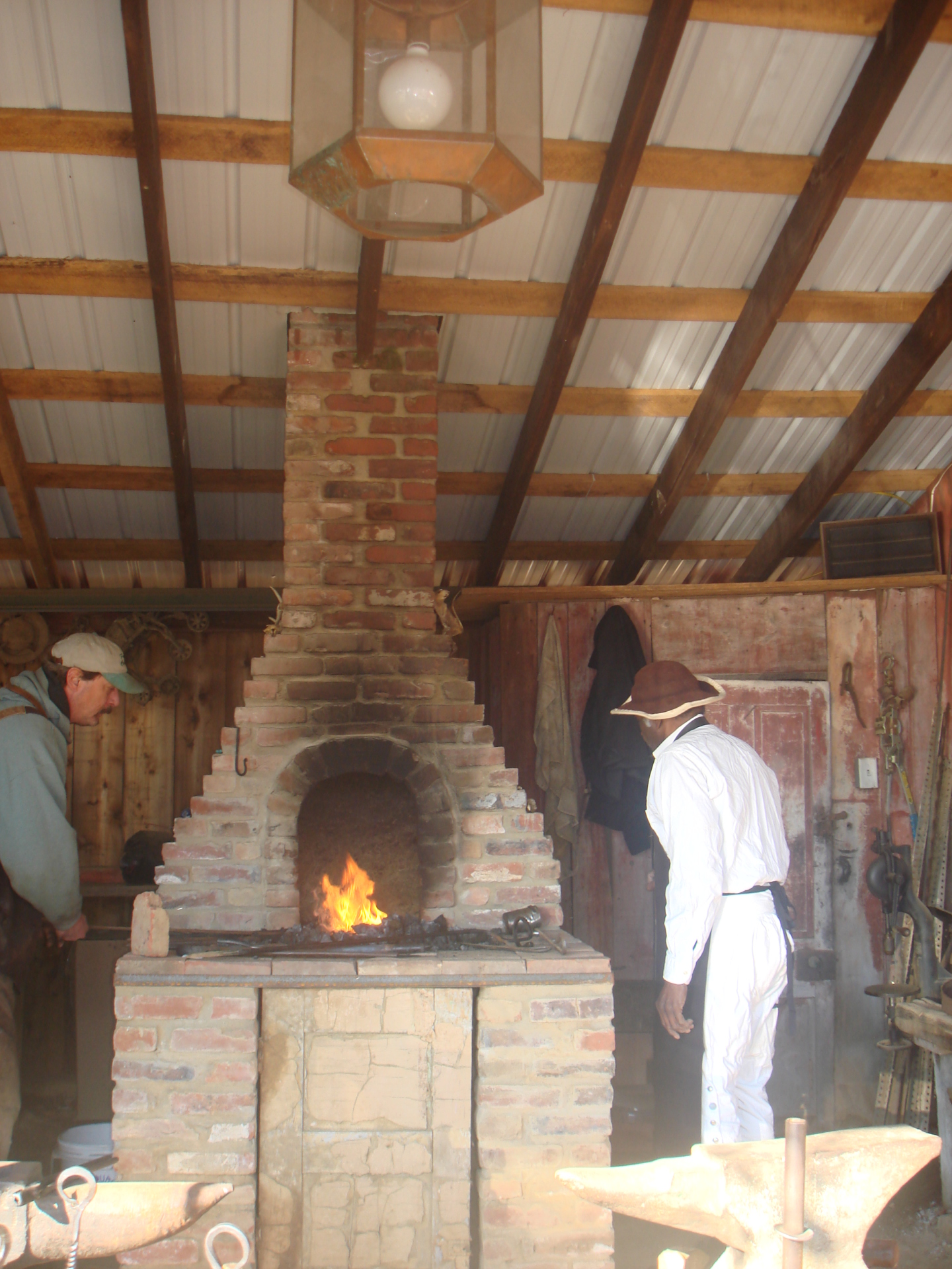 Working Blacksmith shoppe