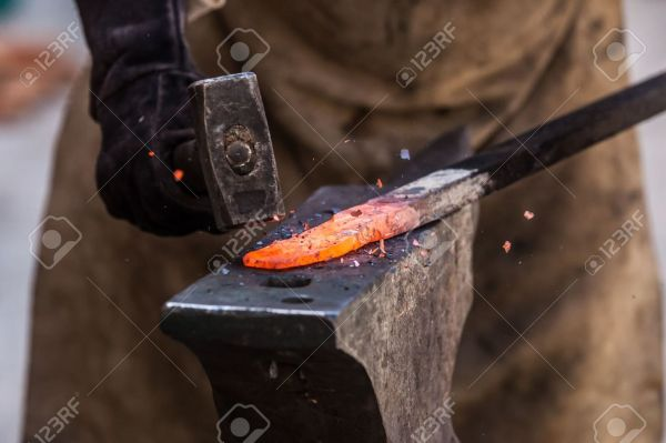 Hot Metal being worked