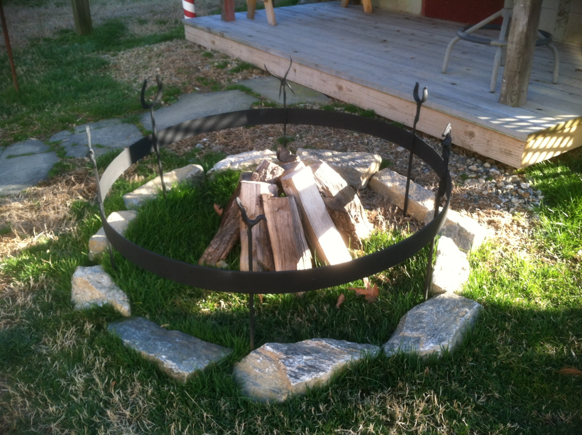 4 foot Wagon Ring Fire Pit