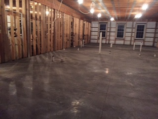First Floor Concrete