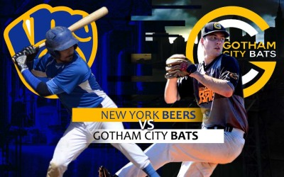 PREVIEW: New York Beers vs. Gotham City Bats