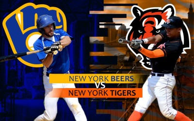 PREVIEW: New York Beers vs. New York Tigers