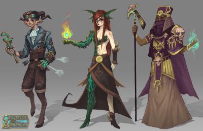 Crusade of Arcana Characters