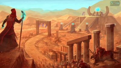 Crusade of Arcana environment