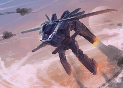 Airmech Bomber