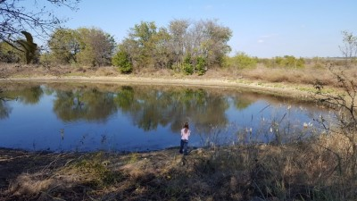 Young girl fishing in Argyle