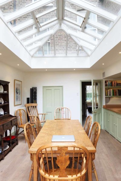 kitchen extension design boho
