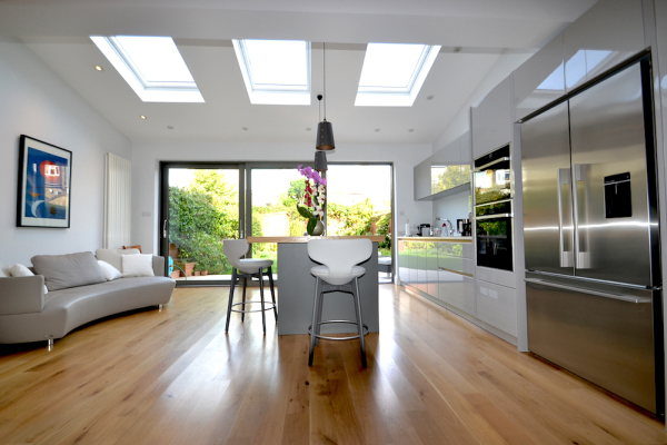 W4 house extension kitchen