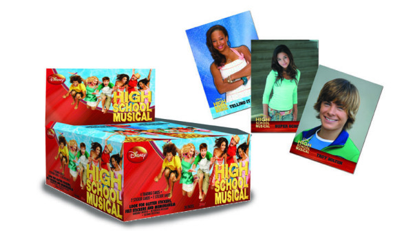 High School Musical Trading Cards