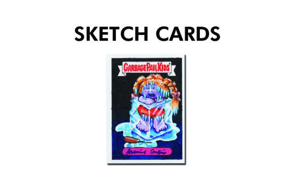 Garbage Pail Kid Sketch Cards