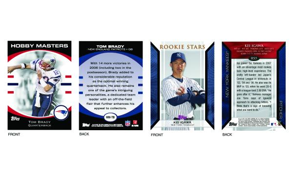 Sports Trading Card Design