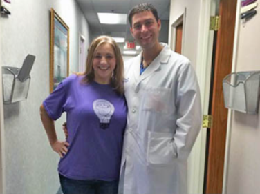 Dr. Jeff Henke with Weight Loss Success patient
