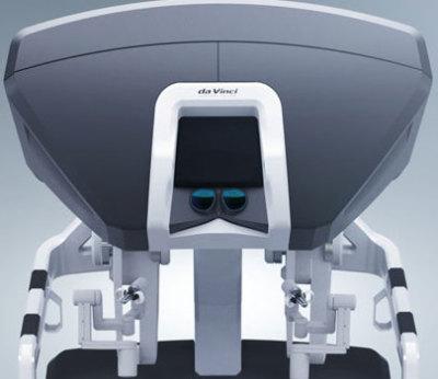 da Vinci surgical system console