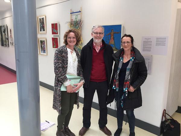 Hilary Morley NUI Galway Daughter of Dagda Exhibition Athena Swan Bronze Award Department of Medicine General Practice