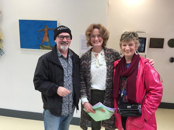 Denis Hilary Noreen NUI Galway Daughter of Dagda Exhibition Athena Swan Bronze Award Department of Medicine General Practice