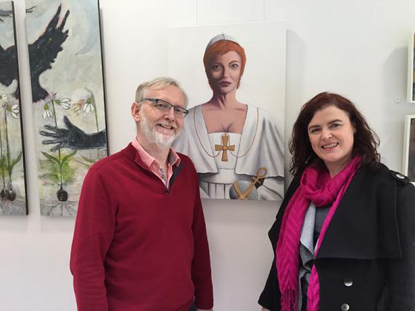 Andrew Murphy Eleanor Duggan NUI Galway Daughter of Dagda Exhibition Athena Swan Bronze Award Department of Medicine General Practice
