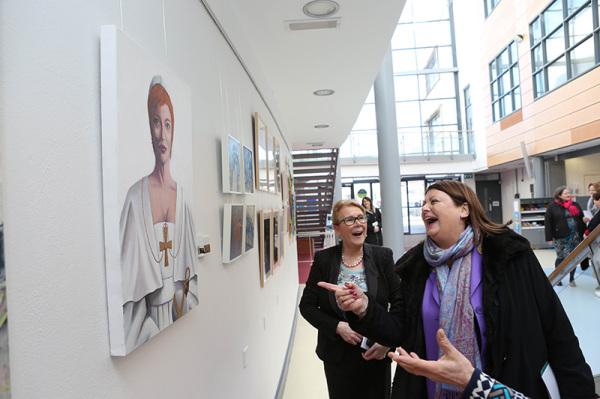 NUI Galway Daughter of Dagda Exhibition Athena Swan Bronze Award Department of Medicine General Practice