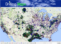 Energy Database of Oil & Gas Drilling, Refineries & Power Plants