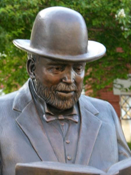 Andrew Carnegie close up