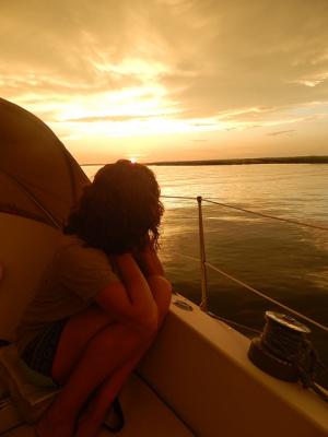 sunset cruise Hilton Head Island sailing charter dolphin