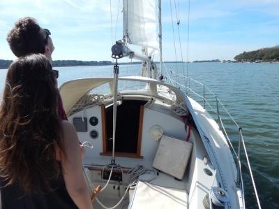 Hilton Head sailing charter instruction dolphin