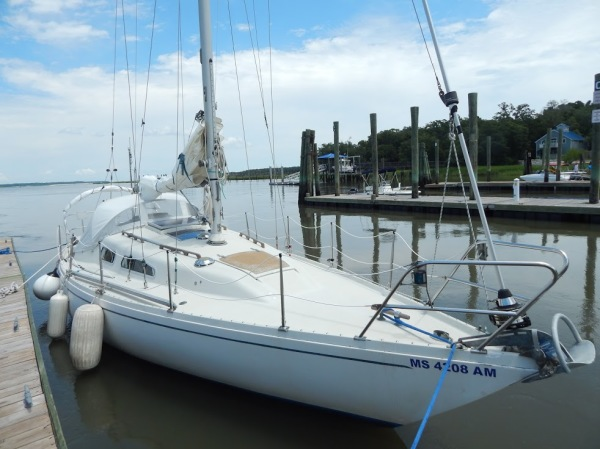 Sedna sailboat Hilton Head Daufuskie Island charter instruction