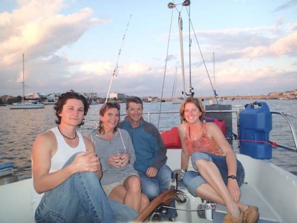 sailing Hilton Head sailboat dolphin charter
