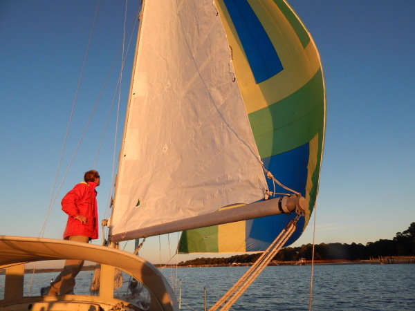 Sailing instruction Hilton Head charter dolphin cruise
